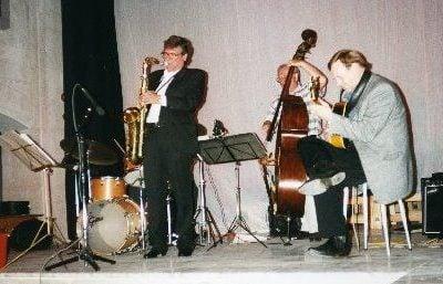 A gig with Alan Skidmore.
