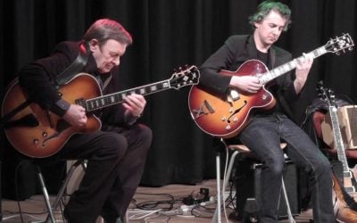 A review of the 30th North Wales International Jazz Guitar Weekend.  Featuring Vic Juris.